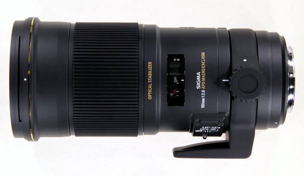Sigma APO Macro 180mm F2.8 EX DG OS HSM Lens