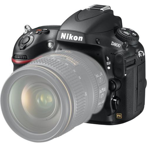 Nikon d800 - front