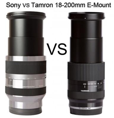 Tamron E-Mount 18-200mm VC Lens