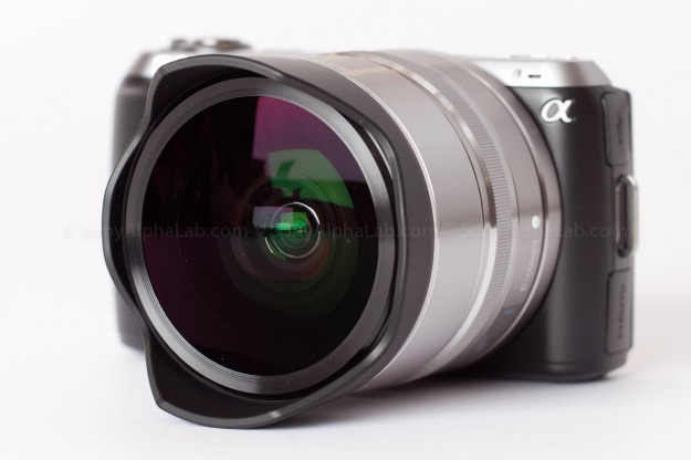 Nex-C3 and Fisheye Conversion Lens for the 16mm E-Mount Lens