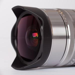 Fisheye Conversion lens for 16mm E-Mount Lens