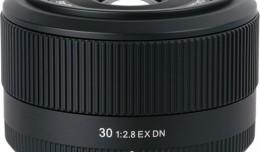 Sigma E-Mount 30mm f/2.8 EX DN Lens