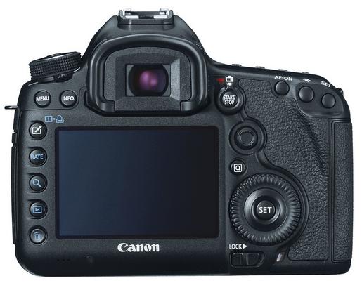 Canon 5D Mark III - Back