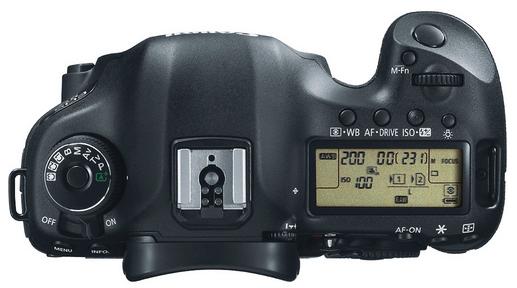 Canon 5D Mark III - Top
