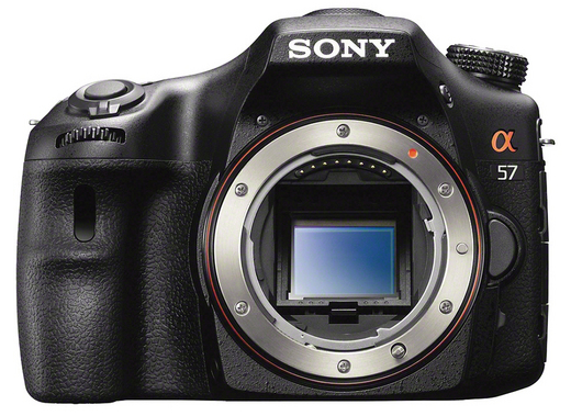 Sony A57 - Body Only - Front