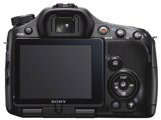 Sony A57 - Body Only - Back