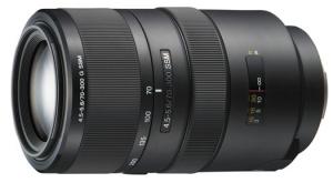 Sony SAL-70300G 70-300mm f/4.5-5.6G SSM Autofocus Lens