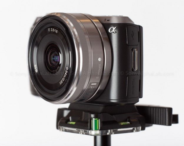 Oben BA-00 Ball Head w/ Nex-C3 Mounted