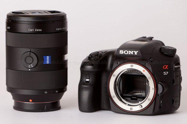 Sony A57 (slt-a57) w/ 24-70mm f/2.8 Carl Zeiss Lens