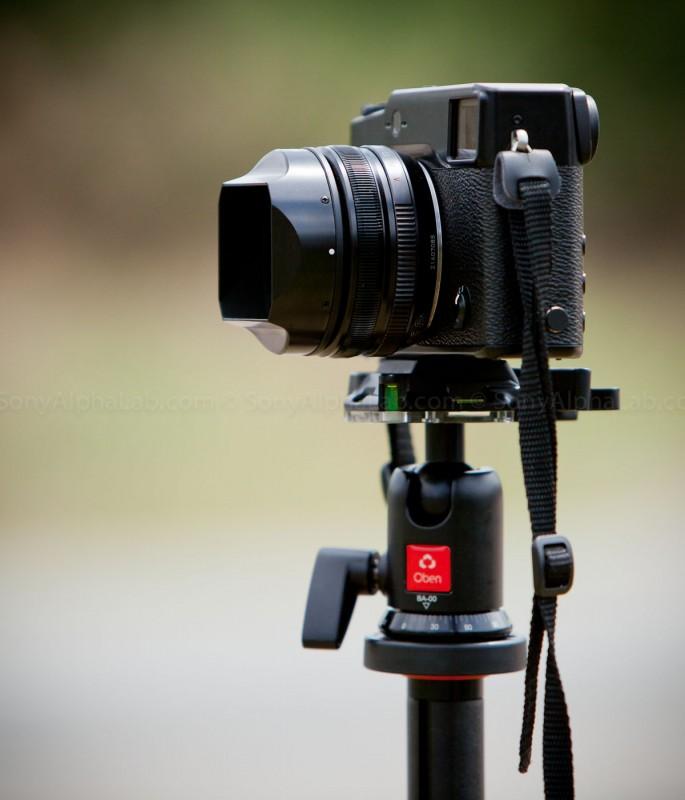 Fujifilm X-Pro 1 w/ 18mm f/2 Lens
