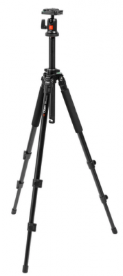 Oben AC-1300 3-Section Aluminum Tripod w/ BA-00 Ball Head