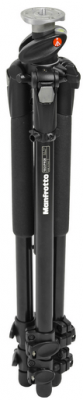 "Manfrotto 190XPROB 3 Section Black Aluminum Pro Tripod Legs (Height 3.15"" - 57"", Maximum Load 11 lbs)"
