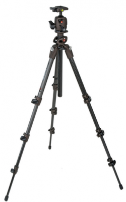 Manfrotto 190CXPRO4 Tripod and MH054MO-Q2 Ball Head Kit - Bronze