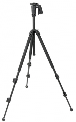 Sunpak 423PX2 3-Section Carbon Fiber Tripod with Compact Pistol Grip Head