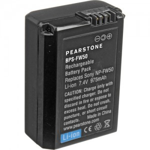 Pearstone's NP-FW50 Lithium-Ion Battery