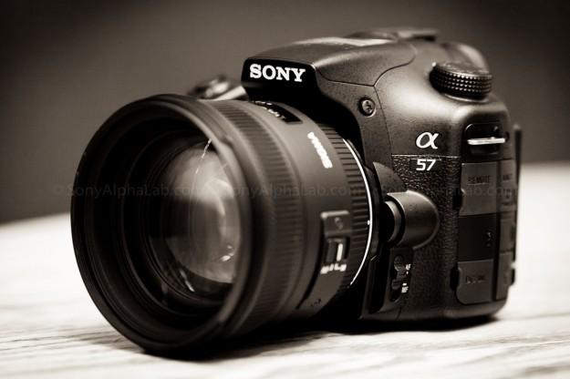 Sony A57 w/ Sigma 50mm f/1.4 EX DG HSM Lens