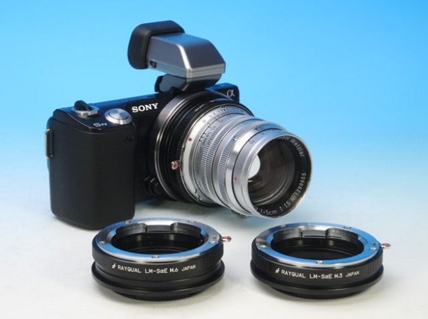 Rayqual adapter for Sony nex using Leica M closeup lens mount