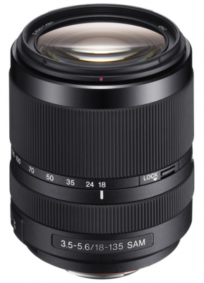 Sony 18-135 mm f/ 3.5 - 5.6 Zoom Lens