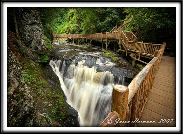 Bushkill Falls 2007