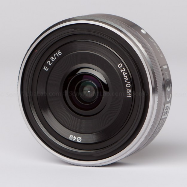 Sony 16mm E-Mount Lens