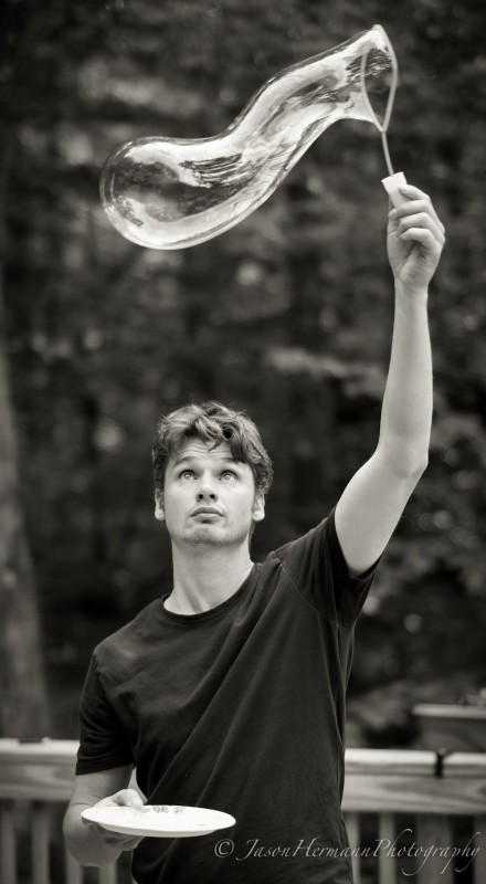 Jim - The Bubble Master