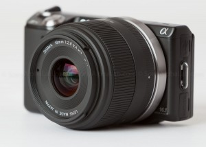 Nex-5n and the Sigma E-Mount 19mm f/2.8 EX DN Lens