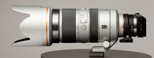 70-400mm f/4-5.6 G SSM Lens and the Nex-5n