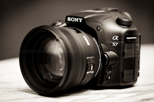 Sony A57 and the Sigma 50mm f/1.4 EX DC Lens