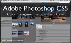 CS5 - Set-up and color management
