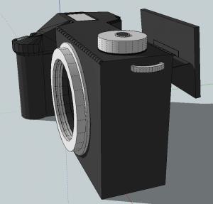 Sony Nex-XX Prototype - Second Generation - Screens Added