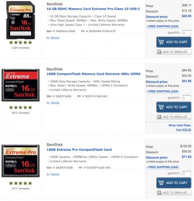 SanDisk 16GB Deal