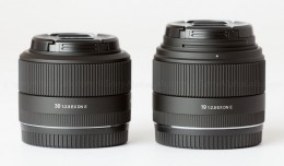 Sigma E-Mount 30mm and 19mm f/2.8 EX DN lenses