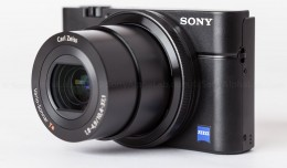 Sony RX100 - Front 3/4 with Camera On!!