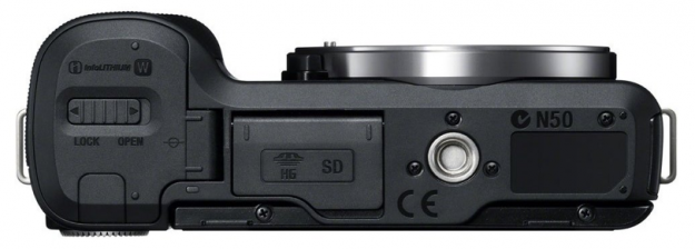 Nex-F3 - Bottom in Black