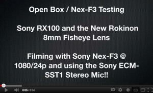 Open Box recorded with Nex-f3