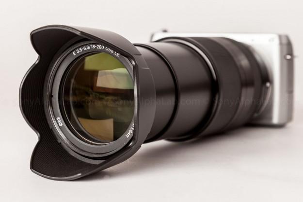 Sony Nex-F3 w/ Sony 18-200mm f/3.5-6.3 OSS lens - SEL18200LE