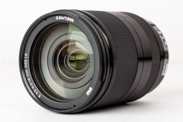 Sony 18-200mm f/3.5-6.3 OSS Lens - Front