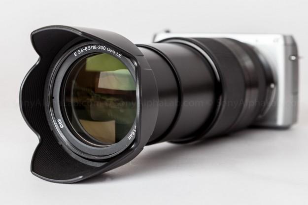 SEL18200LE Sony Nex-f3 w/ Sony 18-200mm OSS Lens