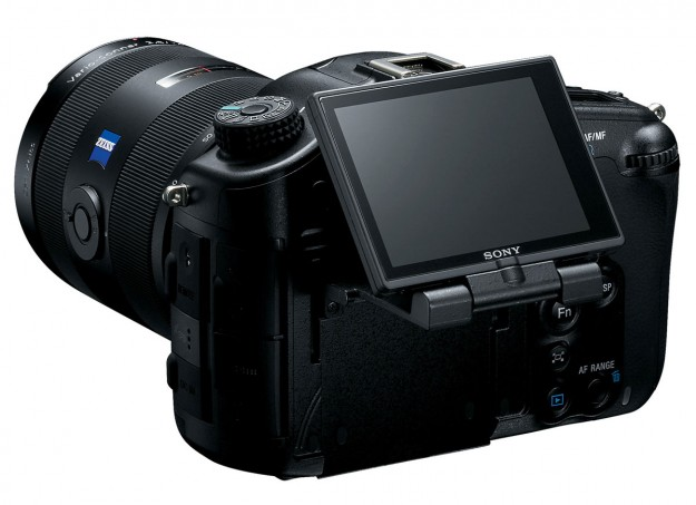 SLT-A99V - Back 3/4 with Screen up