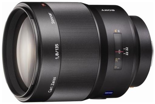 Sony SAL-135F18Z 135mm f/1.8 Carl Zeiss Sonnar T* AF Lens