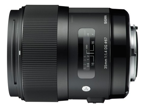 Sigma 35mm f/1.4 DG HSM Lens
