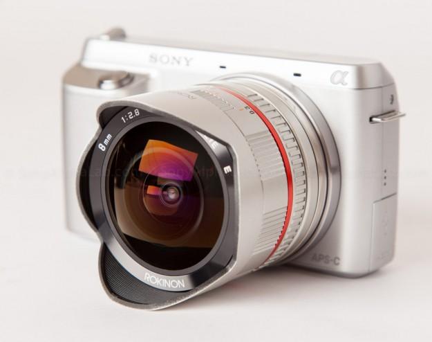 Rokinon 8mm f/2.8 UCM Fisheye Lens w/ Sony Nex-F3