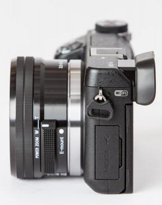 Sony Nex-6 w/ SELP1650 - Left Side