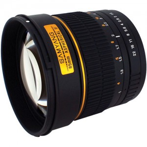 Samyang 85mm f/1.4 IF MC Aspherical Lens Review