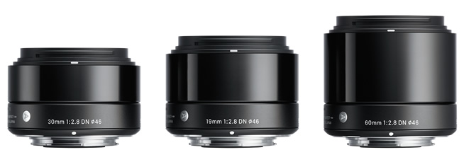 Sigma E-Mount DN Series Lenses
