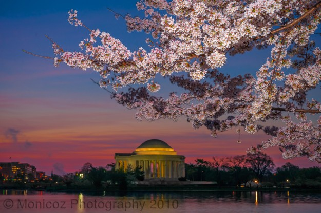 Sunrise on the Tidal Basin