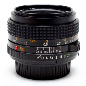 Minolta MD 50mm f/2 Lens Review