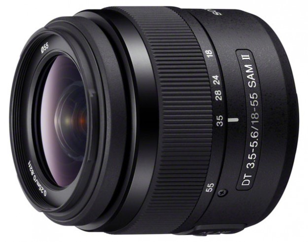 Sony DT 18-55mm F3.5-5.6 SAM II Zoom Lens