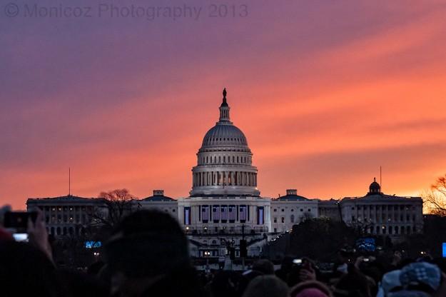 Capital Building at Civil Twilight