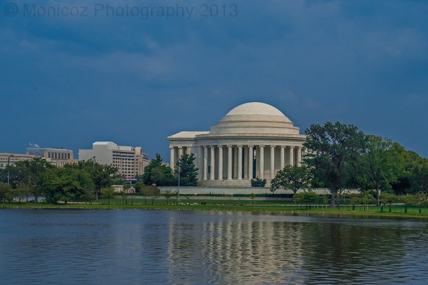 Jefferson Memorial in the Afternoon